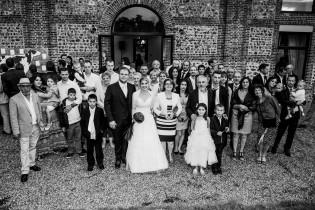 Description: Photo du mariage d'Anne et Florian au Domaine de la Petite Haye - Eure Auteur: